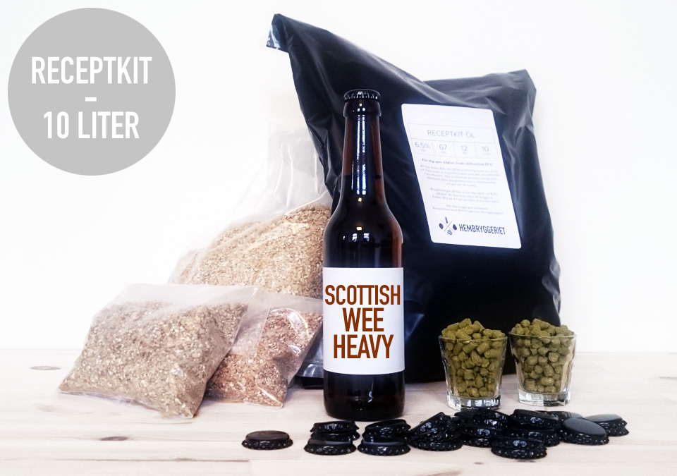 Scottish Wee Heavy Ale 6.5% Receptkit