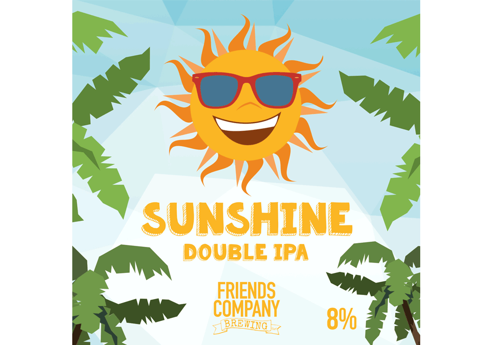 Friends Company Sunshine Double IPA 8% 20L Recipe Kit
