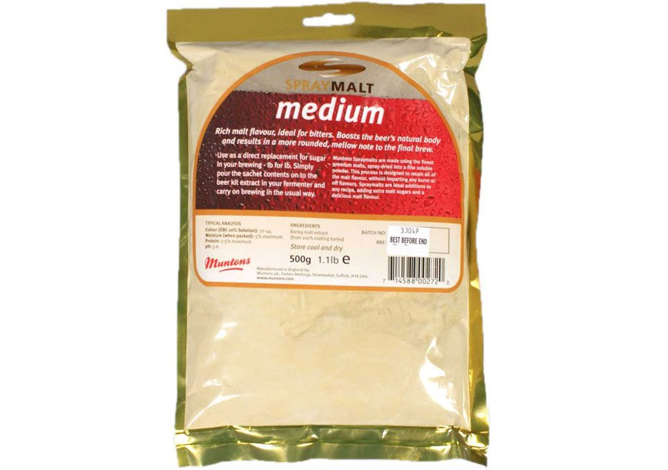 Muntons Spraymalt Medium 500g