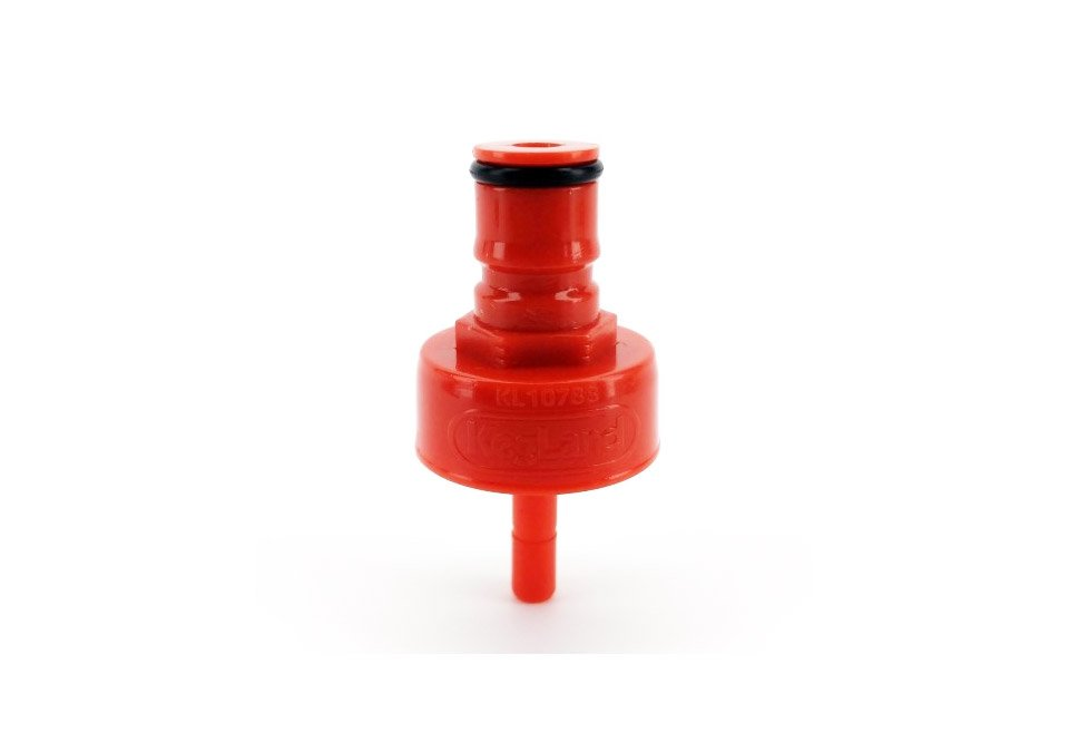FermZilla Red Plastic Carbonation/Cleaning Cap