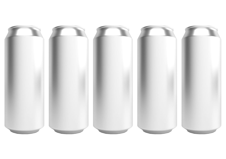 Cans 500ml Standard Silver CDL 142-pack