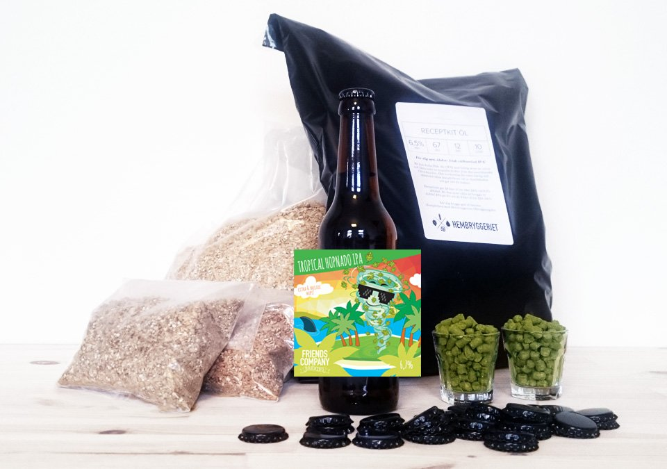 Friends Company Tropical Hopnado IPA 6,7% Recipe Kit 10L