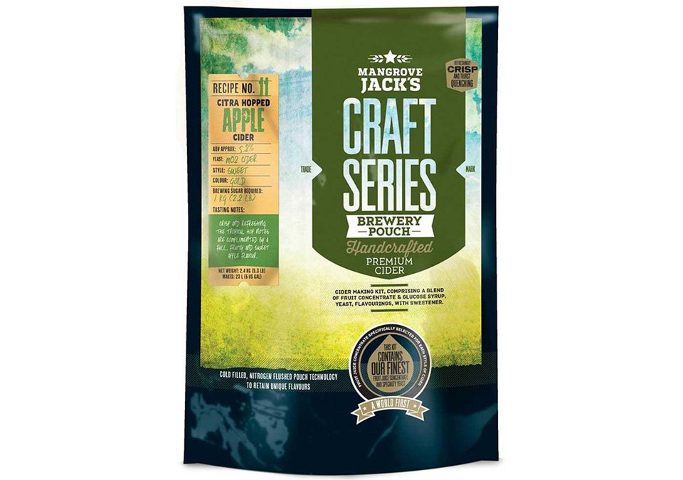 Mangrove Jacks Dry Hopped Apple Cider 23L