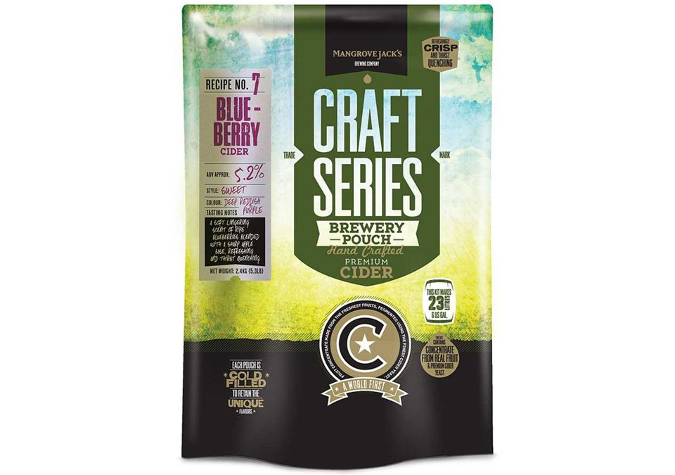 Mangrove Jacks Blueberry Cider 23L