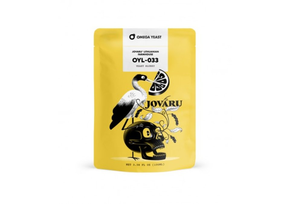 Omega Yeast OYL-033 Jovaru™ Lithuanian Farmhouse Yeast