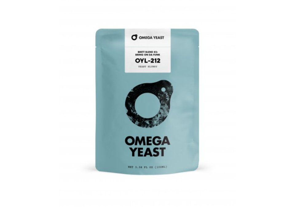 Omega Yeast OYL-212 Brett Blend #3 Bring On Da Funk Yeast