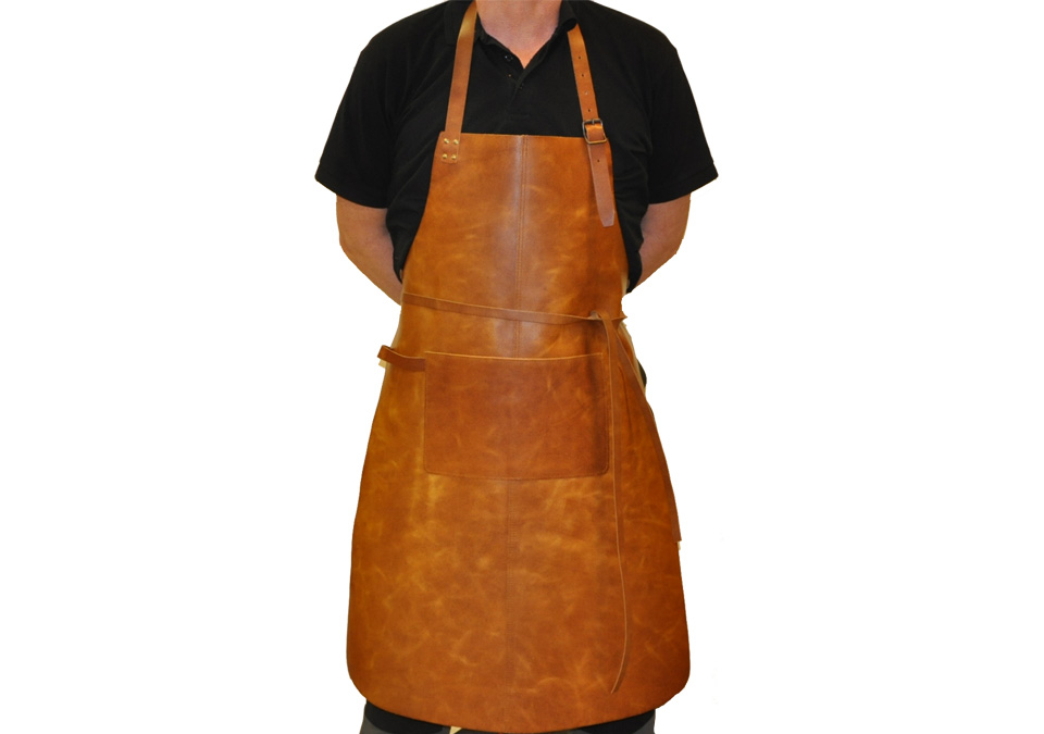 Apron Italian Spalt Brown